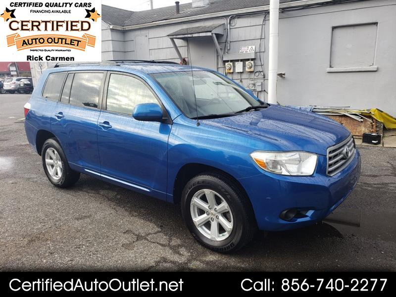 2008 Toyota Highlander FWD 4dr V6 Base (Natl)