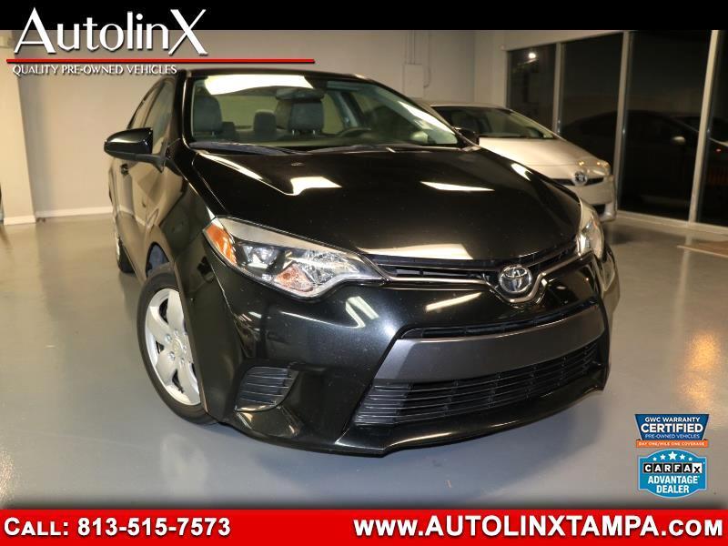 2015 Toyota Corolla LE Plus CVT