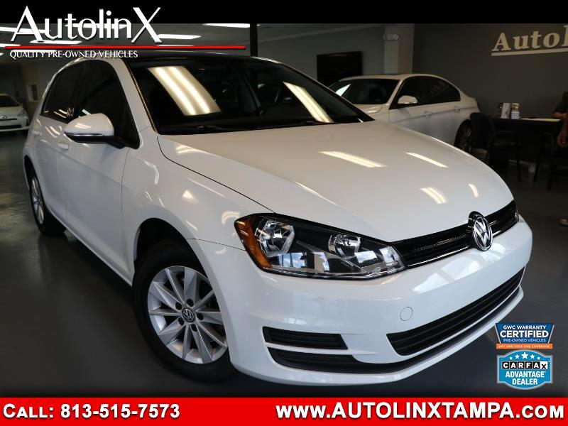 2015 Volkswagen Golf TSI S 5M w/Sunroof
