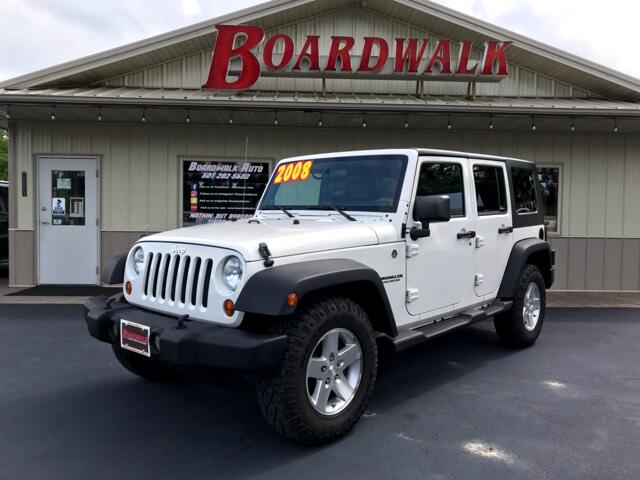 2008 Jeep Wrangler Unlimited Rubicon 4WD