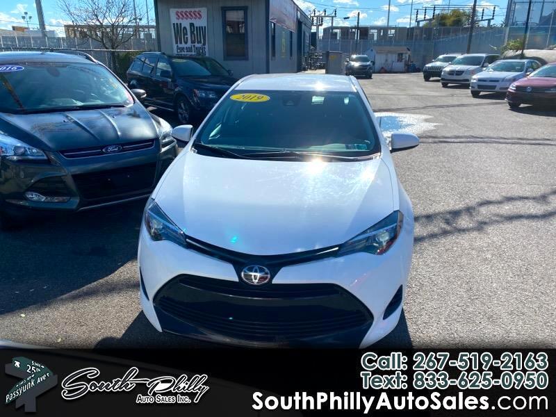 Toyota Corolla XLE CVT 2019