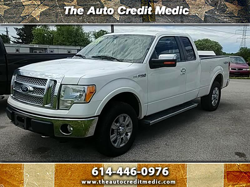 """2010 Ford F-150 4WD SuperCab 133"""" Lariat"""