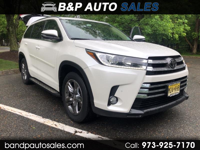 2018 Toyota Highlander Limited Platinum AWD V6