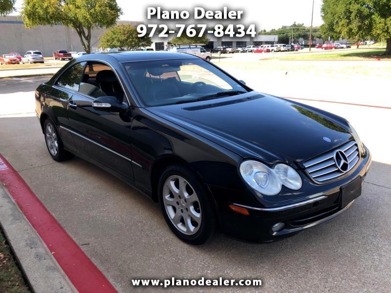 2004 Mercedes-Benz CLK-Class CLK320 Coupe