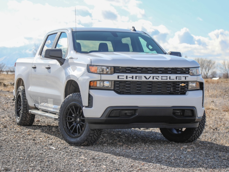 Chevrolet Silverado 1500 Custom Crew Cab Short Box 4WD 2019