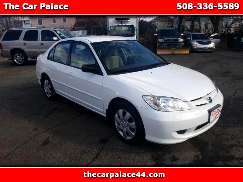 2004 Honda Civic LX Sedan AT with Front Side Airbags