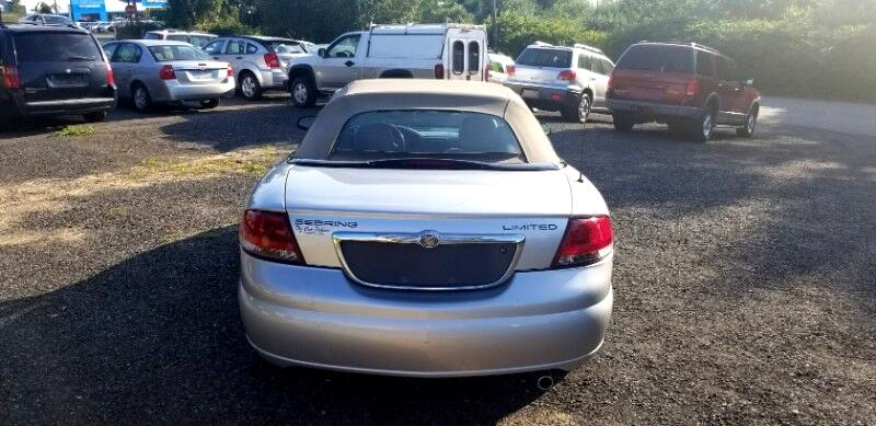 Chrysler Sebring Limited Convertible 2006