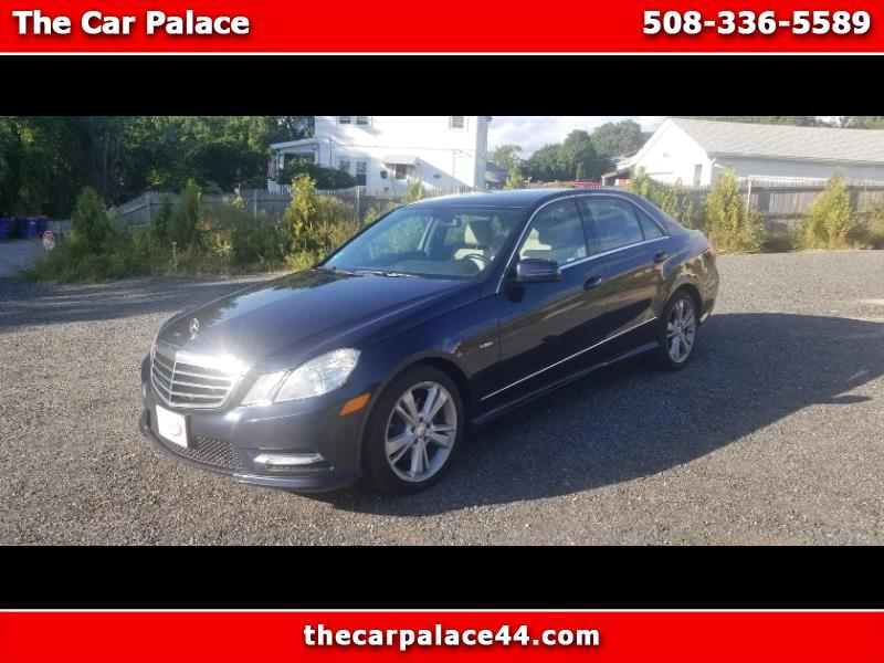 Mercedes-Benz E-Class E350 4MATIC Sedan 2012