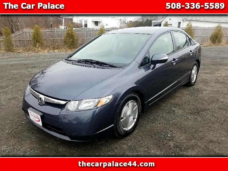 Honda Civic Hybrid CVT AT-PZEV 2008