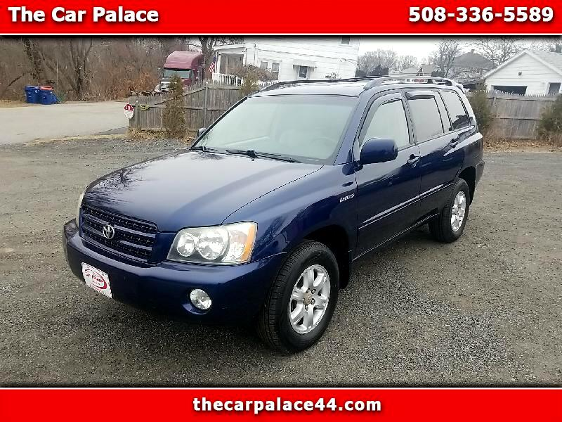 Toyota Highlander Limited V6 4WD 2003