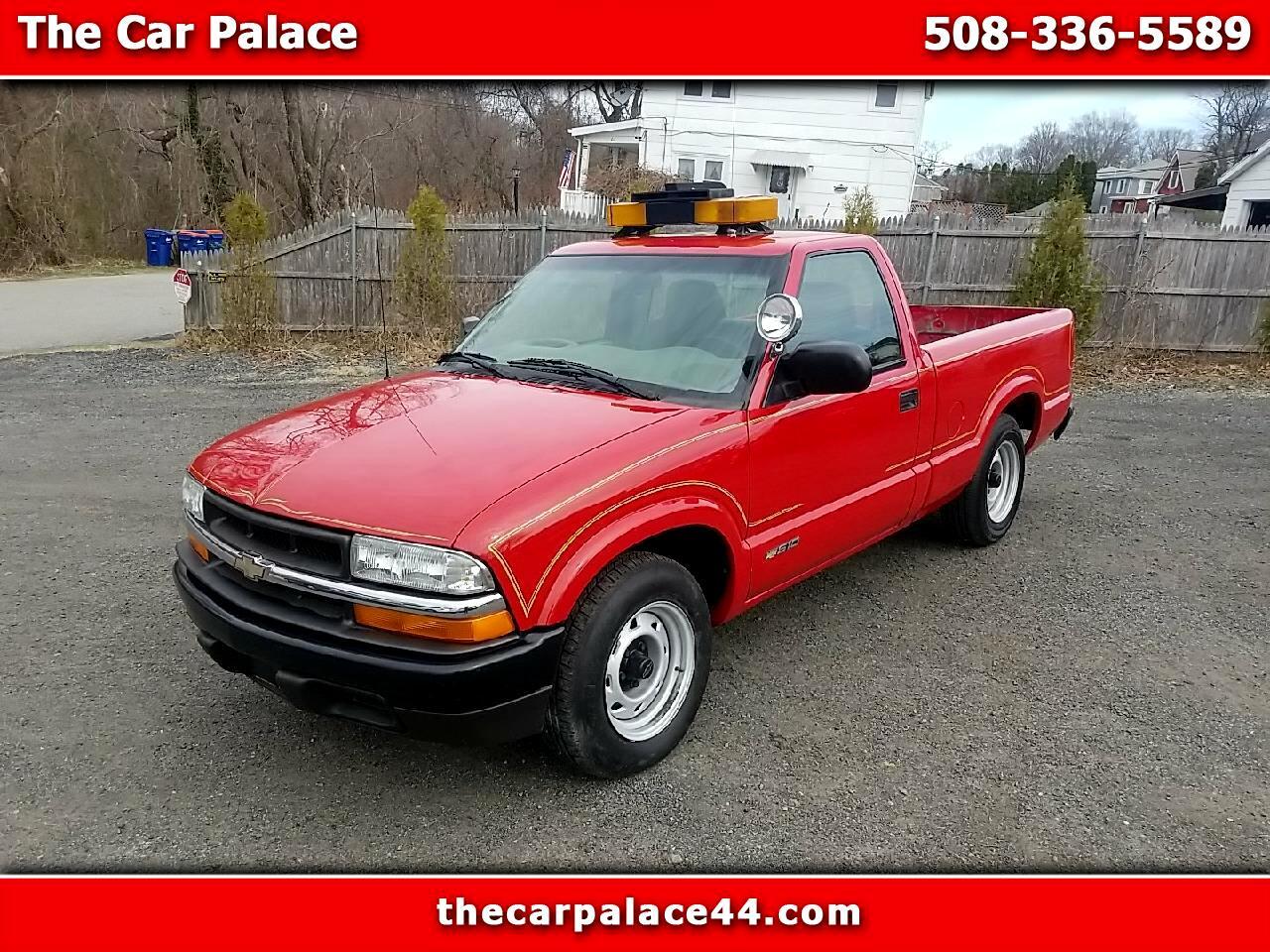 """Chevrolet S-10 Reg Cab 108"""" WB 2002"""
