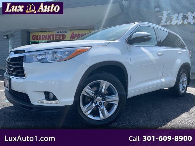 2015 Toyota Highlander Limited Platinum V6 AWD (Natl)