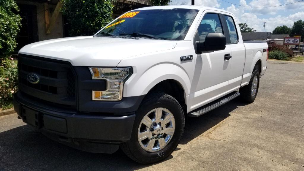 Ford F-150 XL SuperCab 8-ft. Bed 4WD 2015
