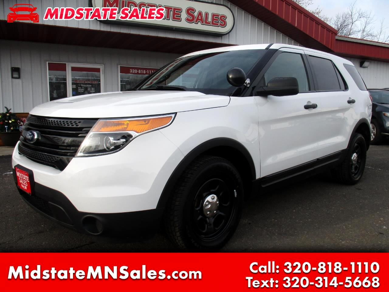 2014 Ford Utility Police Interceptor AWD 4dr