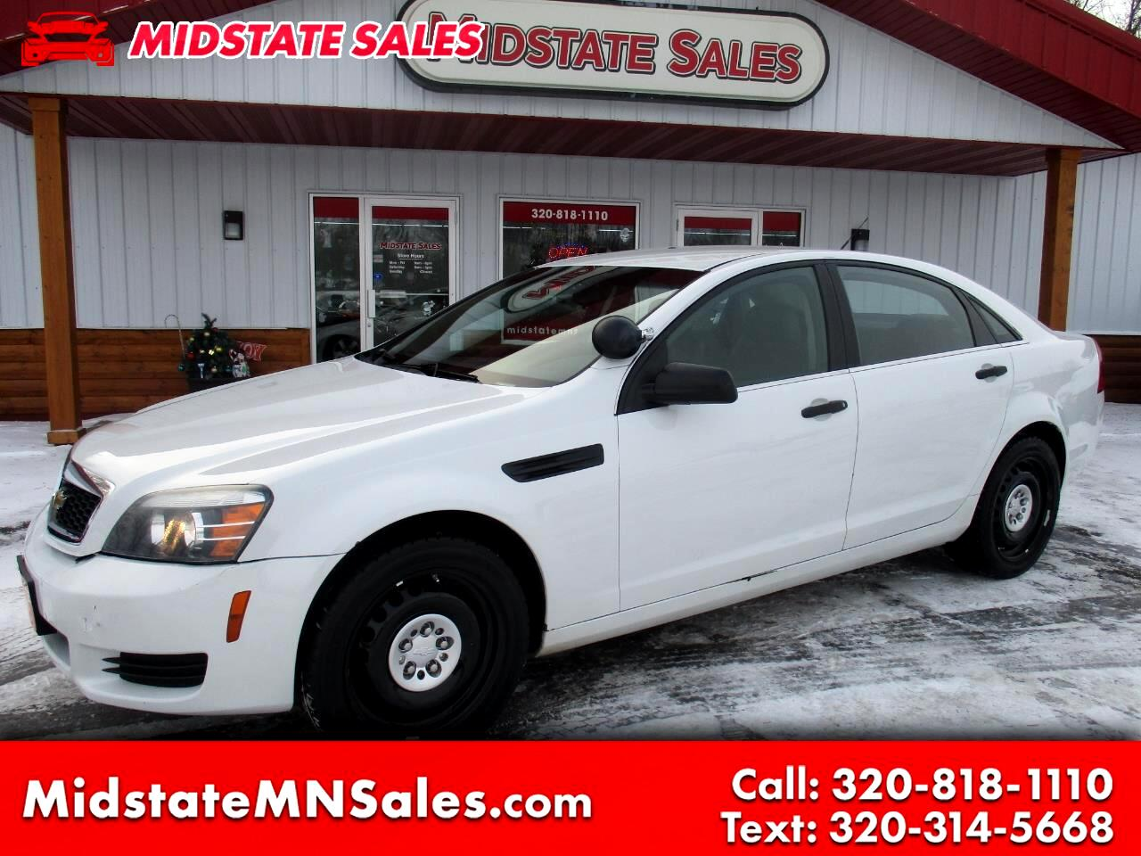 2012 Chevrolet Caprice Police Patrol Vehicle 4dr Sdn Police