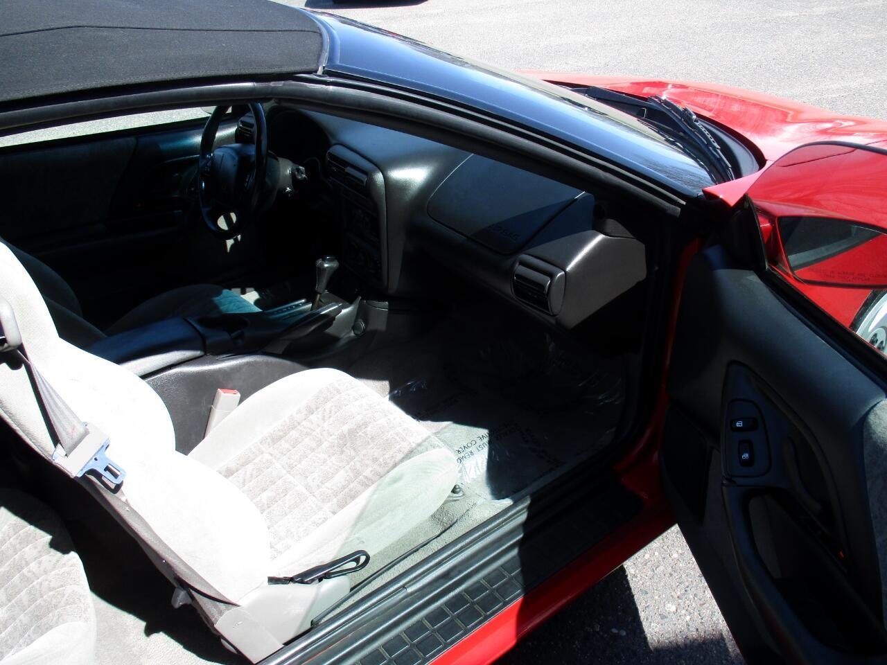 2001 Chevrolet Camaro 2dr Convertible