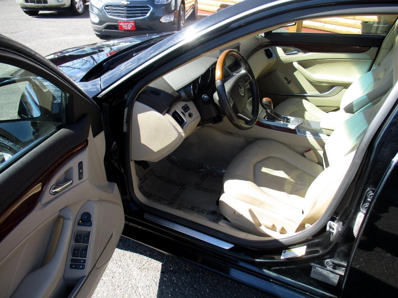 2008 Cadillac CTS 4dr Sdn AWD w/1SB