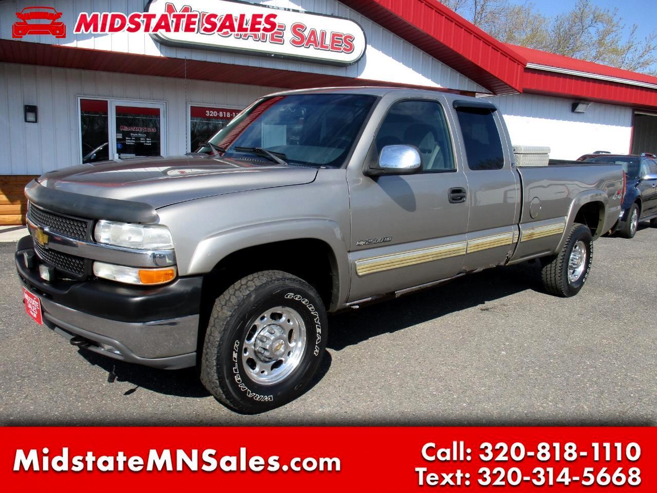 2001 Chevrolet Silverado 2500HD Ext Cab 157.5
