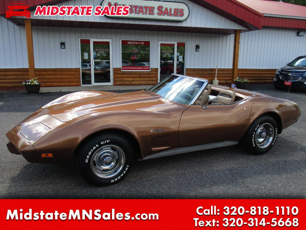1975 Chevrolet Corvette Stingray 1LT Convertible