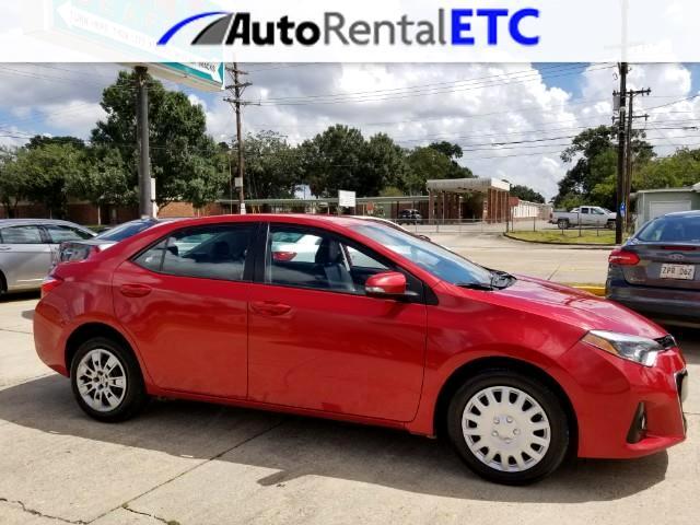 Car Rental Lafayette La >> Used 2016 Toyota Corolla S Premium Cvt For Sale In Lafayette