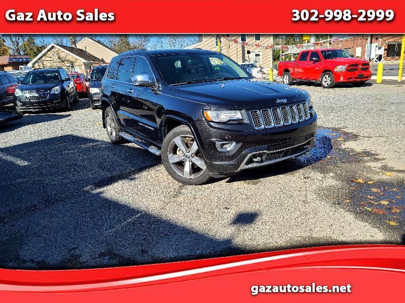 Jeep Grand Cherokee Overland 2WD 2014