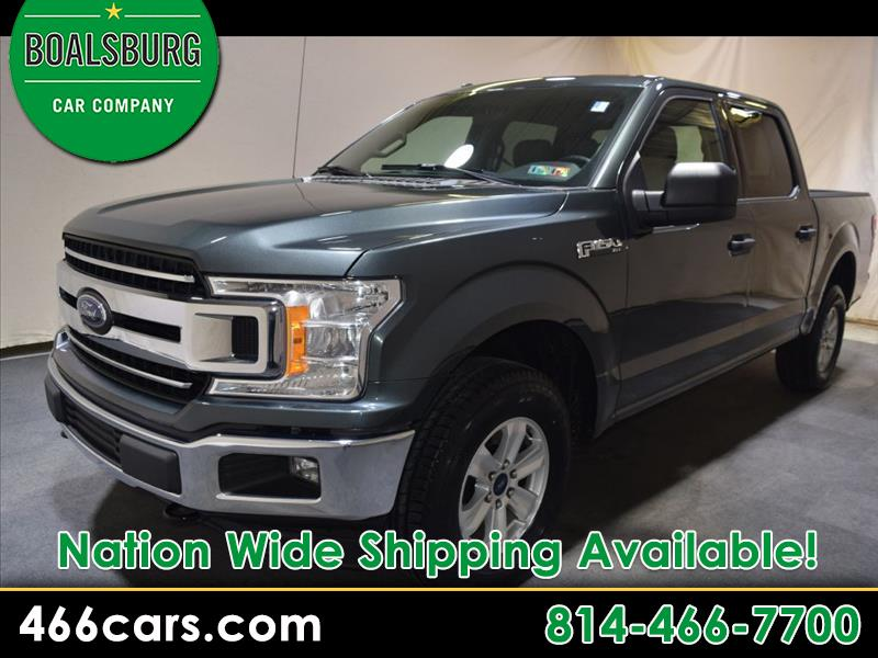 "2018 Ford F-150 4WD SuperCrew 150"" XLT"