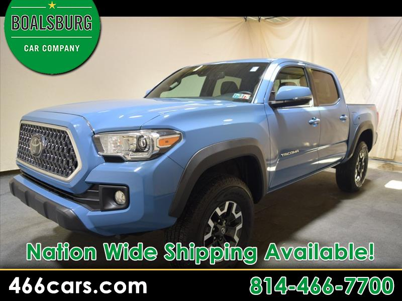 2019 Toyota Tacoma 4WD Double Cab V6 AT TRD Off Road (Natl)