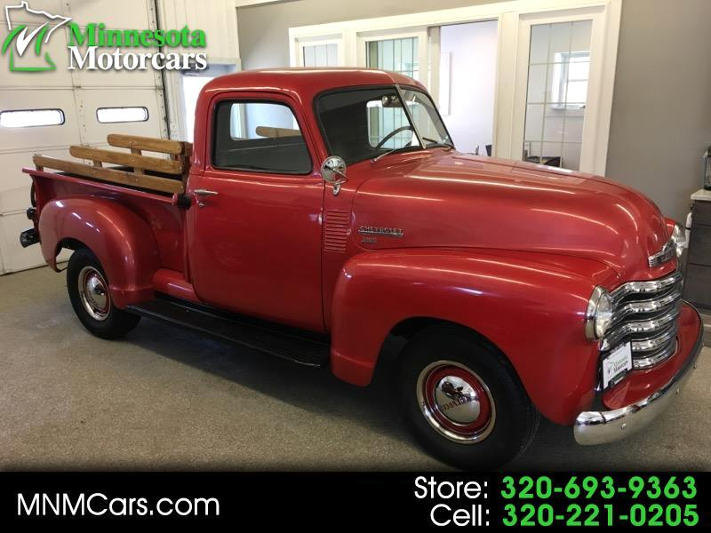 1950 Chevrolet 3100 COLLECTOR CLASSIC