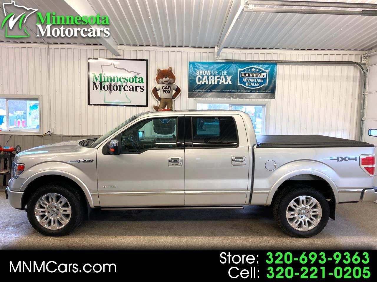 Ford F-150 Platinum SuperCrew 5.5-ft. Bed 4WD 2014