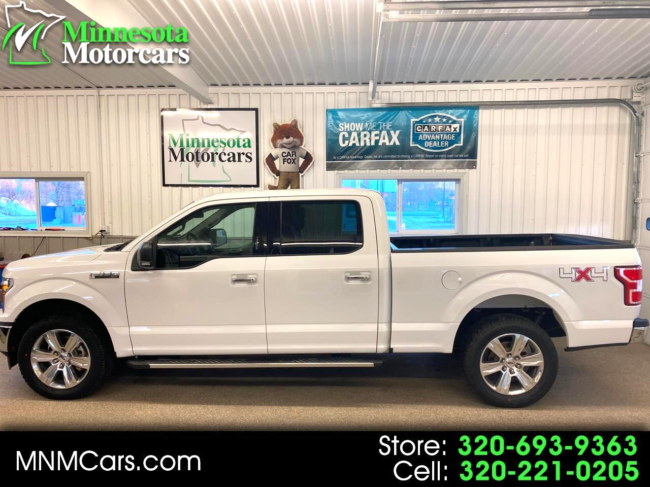 "Ford F-150 4WD SuperCrew 157"" XLT 2018"