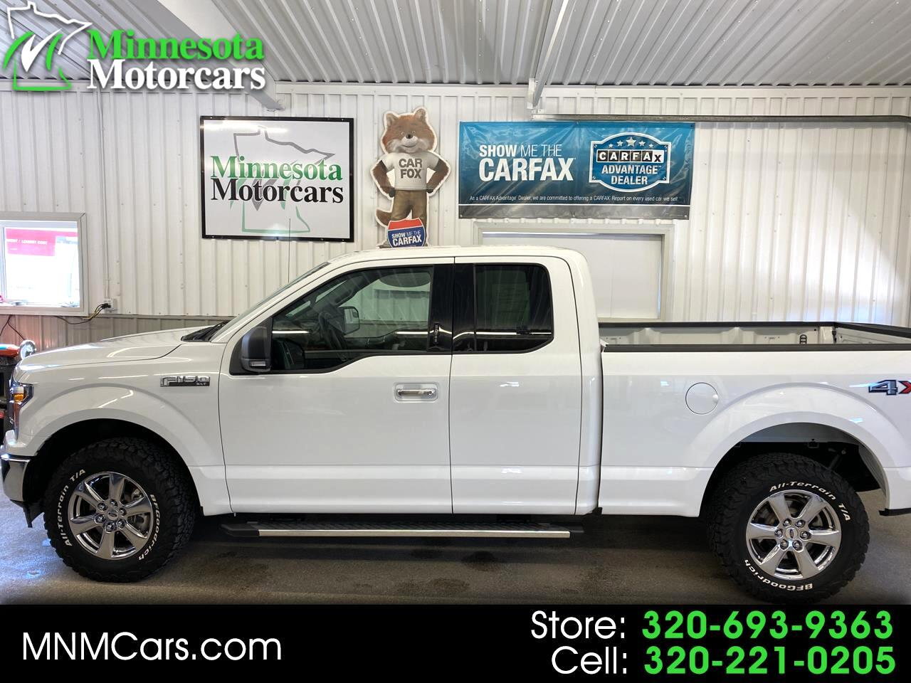 "Ford F-150 4WD SuperCab 163"" XLT 2018"