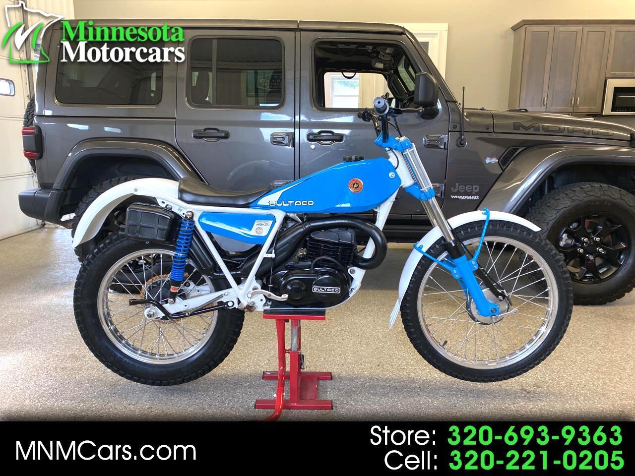 """Bultaco Sherpa """"T"""" 350  1982"""