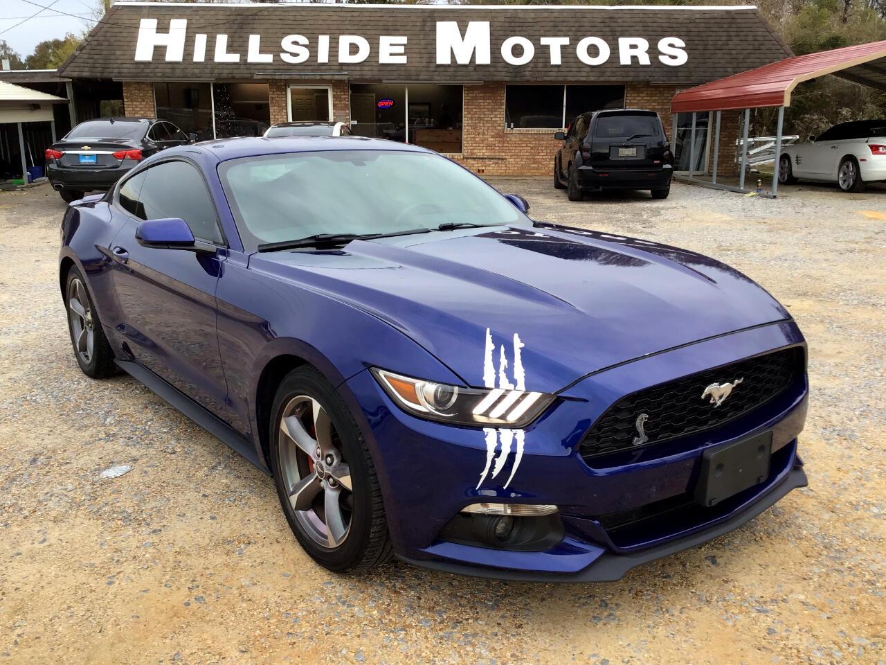 Used 2015 Ford Mustang V6 Coupe For Sale In Laurel Ms 39440 Hillside Motors