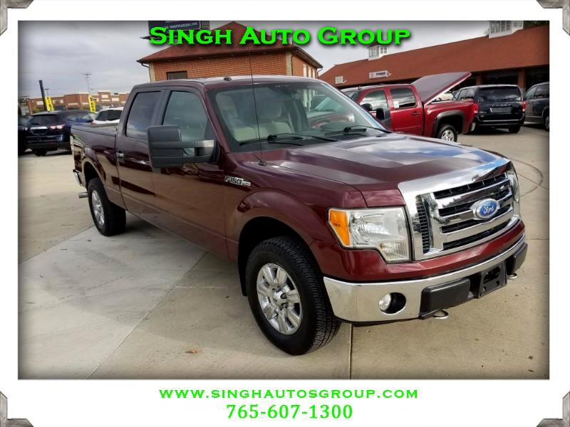 "2009 Ford F-150 SuperCrew Crew Cab 139"" XLT 4WD"