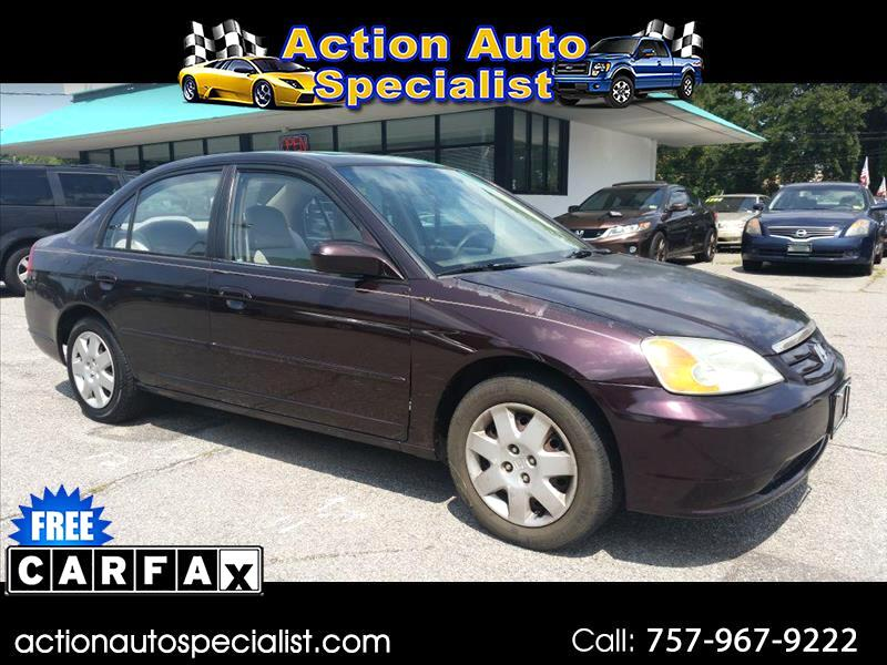 2001 Honda Civic EX sedan