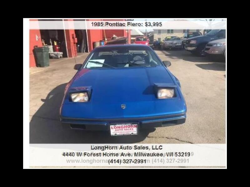 1985 Pontiac Fiero Sports