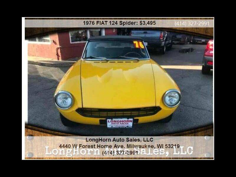 1976 Fiat 124 Spider Classica Convertible