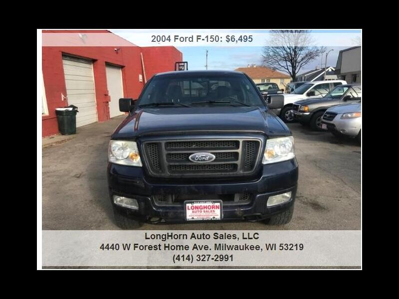 """2004 Ford F-150 4WD SuperCab 133"""" FX4"""
