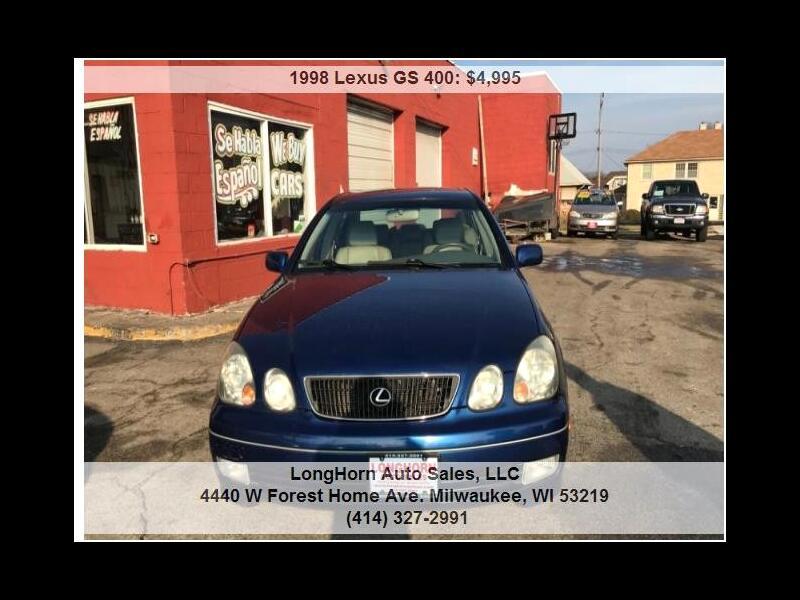 1998 Lexus GS 300/400 GS 400
