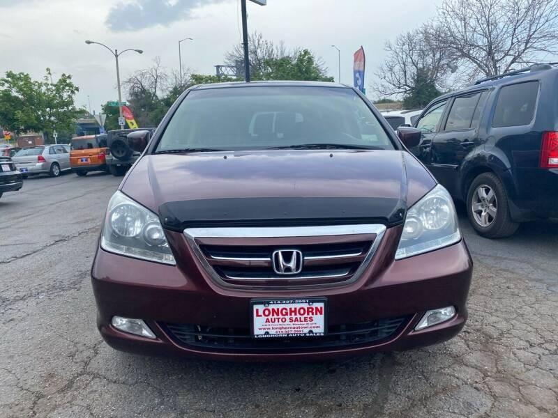 Honda Odyssey 5dr EX-L w/DVD/Leather 2007
