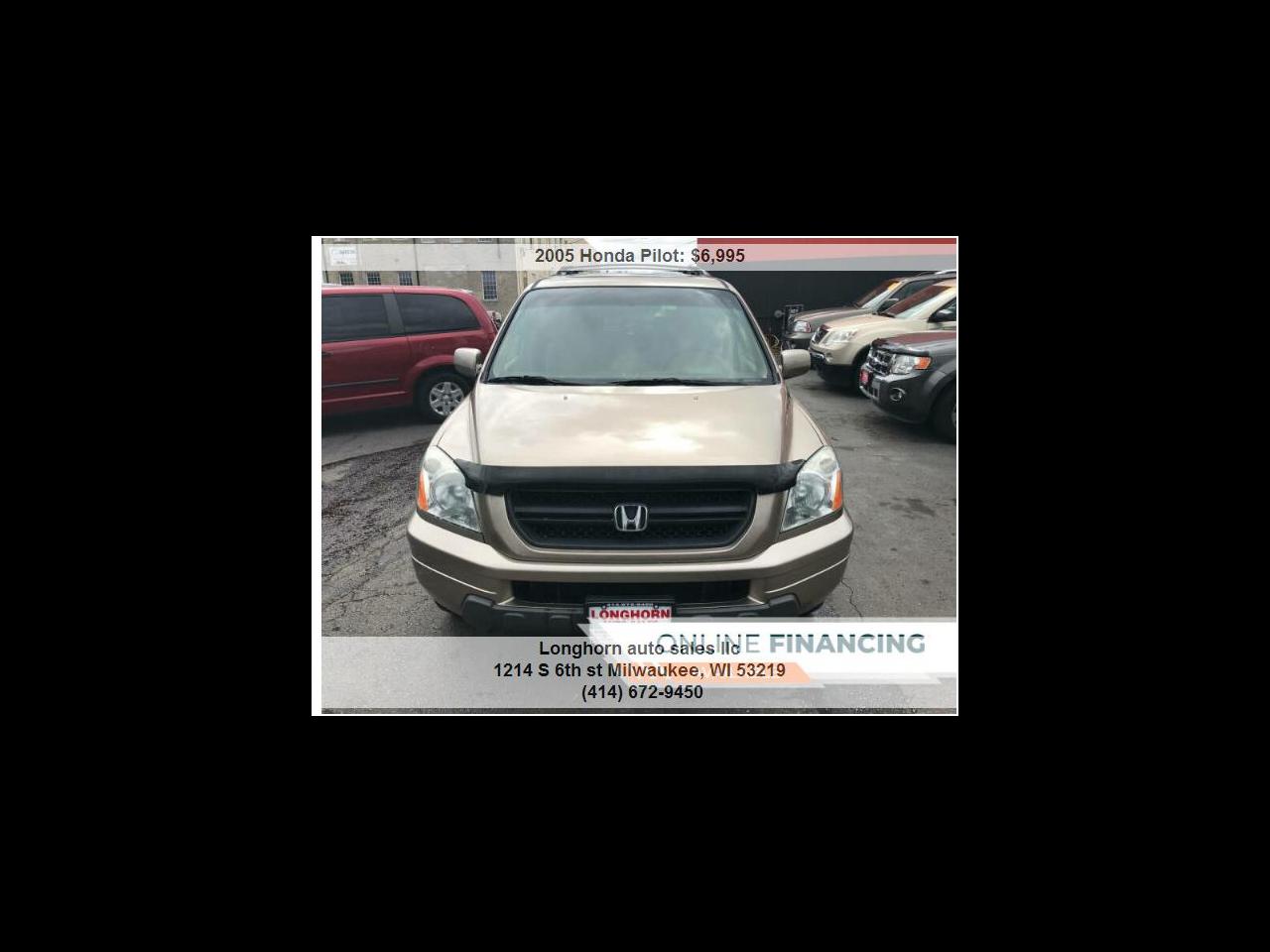 Honda Pilot EX w/ Leather and Navigation 2005
