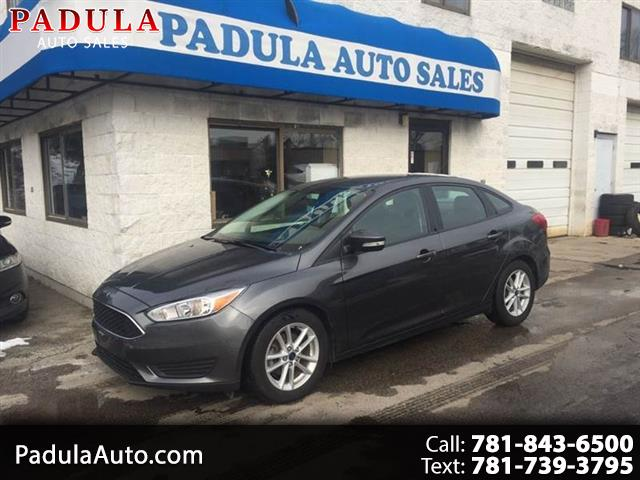 2016 Ford Focus SE Sedan