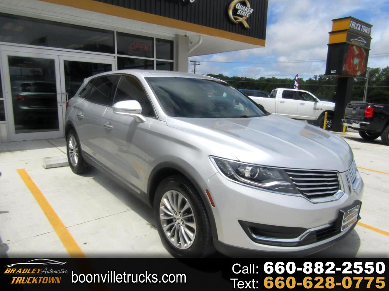 Lincoln MKX Select FWD 2018
