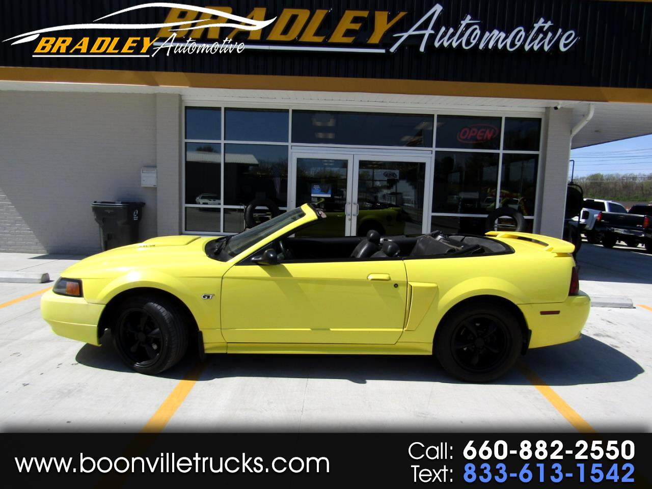 Ford Mustang 2dr Convertible GT Deluxe 2001