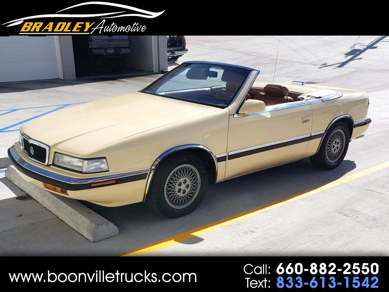 Chrysler TC By Maserati Convertible 1989