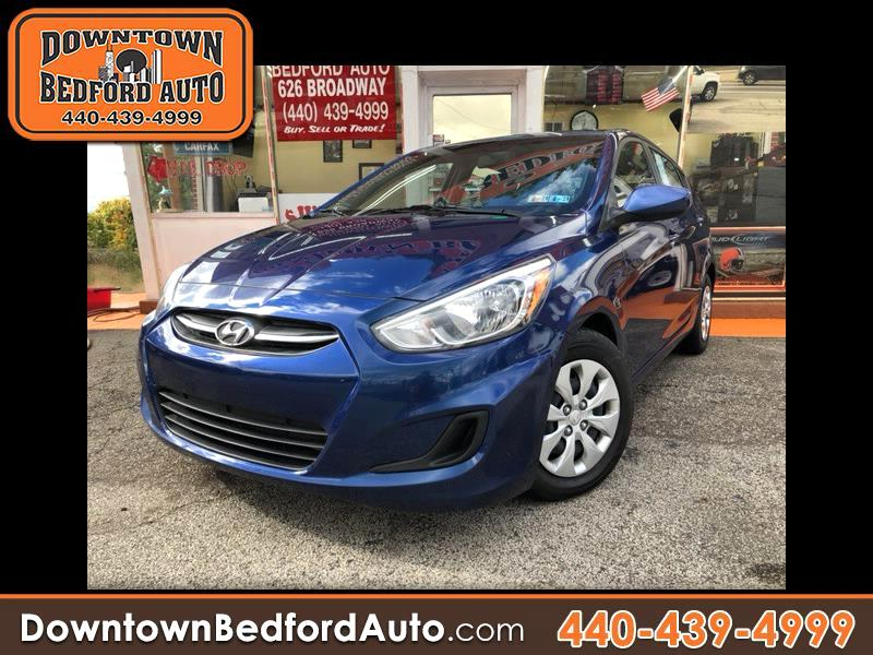 Hyundai Accent SE 5-Door 6A 2016