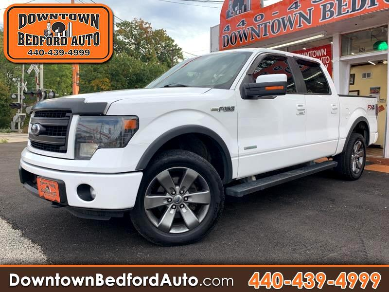 "Ford F-150 SuperCrew 150"" FX4 4WD 2013"