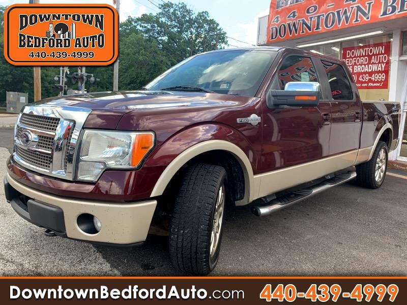 "Ford F-150 SuperCrew 150"" King Ranch 4WD 2009"