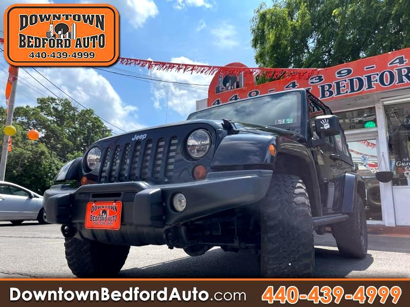 Jeep Wrangler Rubicon 4WD 2012