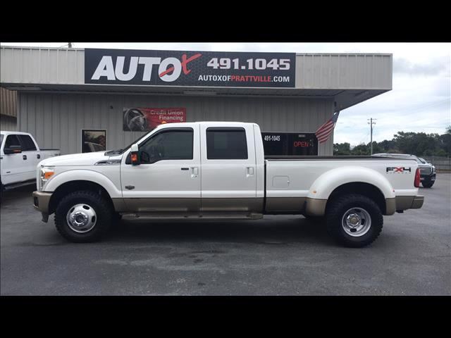 2011 Ford F350 XL Crew Cab Long Bed DRW 4WD